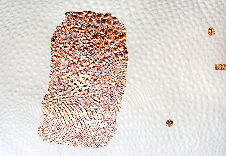 Copper HoroHoro: Saiが手掛けたアートです。