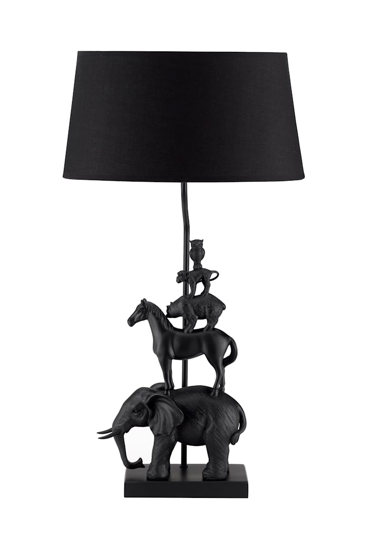 Animal Tower Black:  de style  par Muno
