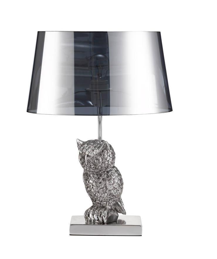Animal Table Lamp Owl Chrome:  de style  par Muno