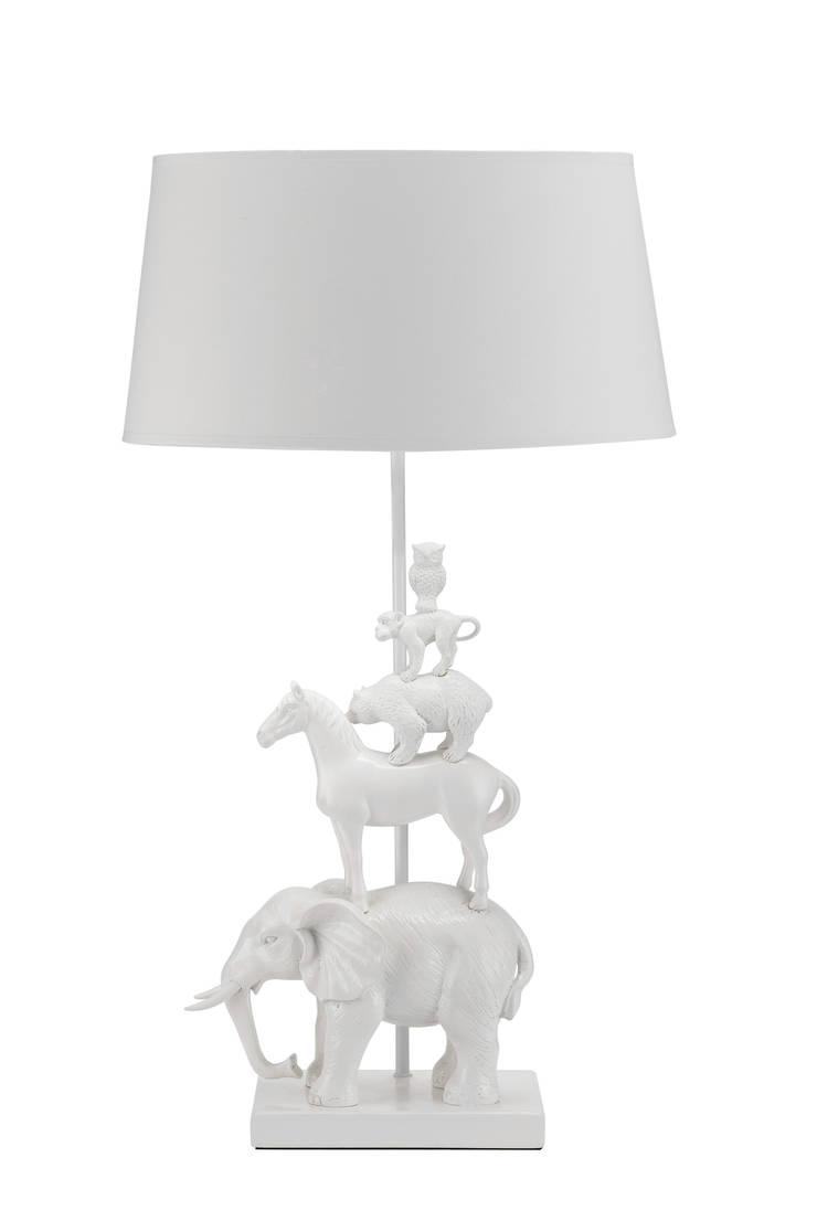 Animal Tower White:  de style  par Muno
