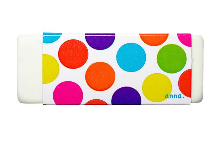 gomme pois multicolores:  de style  par anna's shop