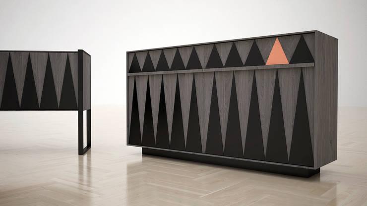Private_Collection: Sala multimediale in stile  di SodlabStudio