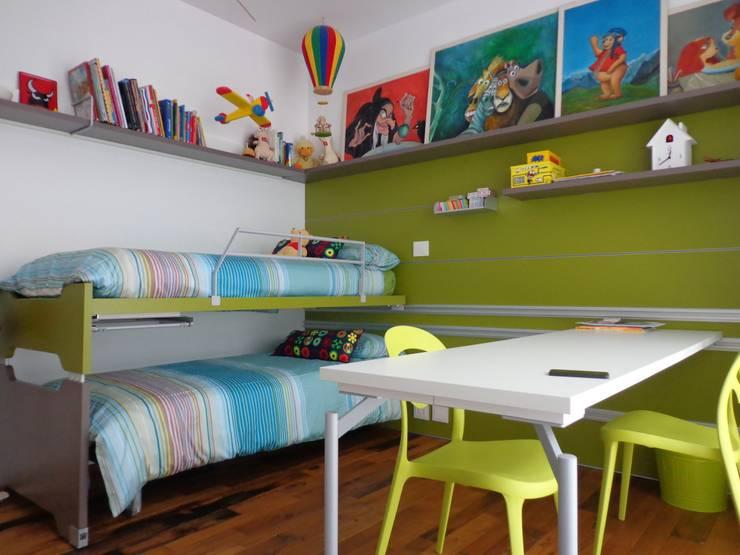 Sangervasio Loft: Camera da letto in stile  di Massimo Adiansi Architetto