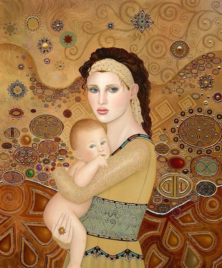 Motherhood :  Artwork by SHEEVIA  INTERIOR CONCEPTS