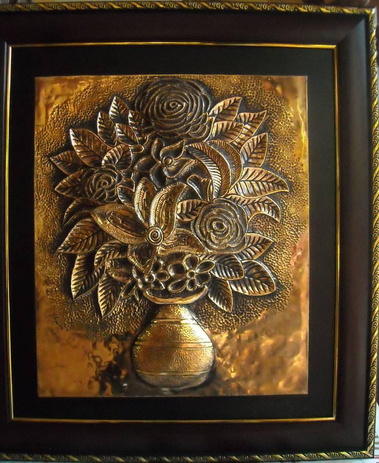 Metal art work:  Artwork by SHEEVIA  INTERIOR CONCEPTS