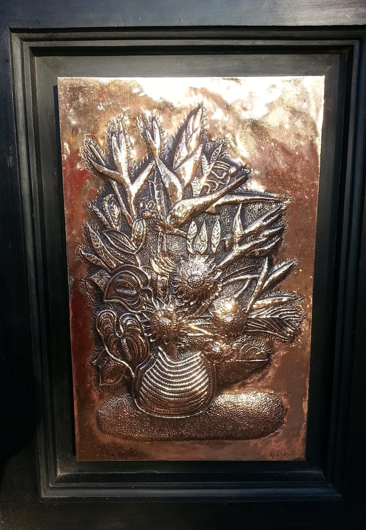 Metal art works:  Artwork by SHEEVIA  INTERIOR CONCEPTS