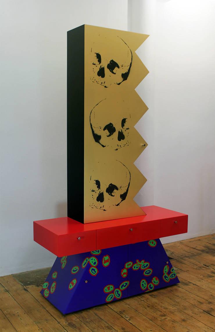 Laissez-faire (A Portrait of Capitalism):  Living room by Gary Morga Design