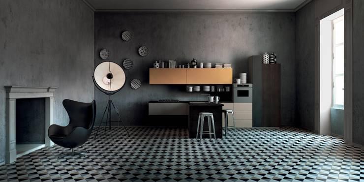 Italian Modular Kitchens:  Kitchen by Grandeur Interiors