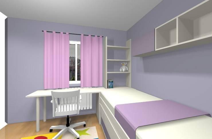 Habitación nice:  de estilo  de Sofás Camas Cruces