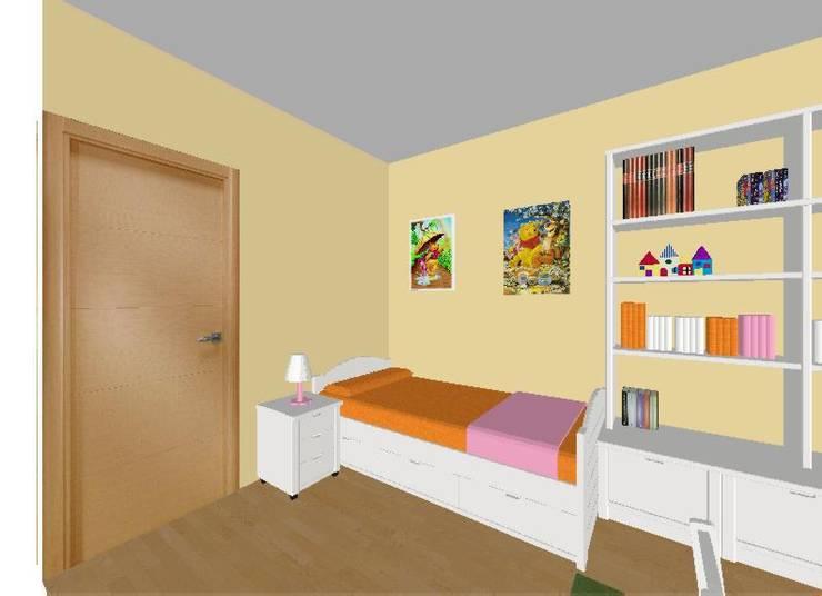 Habitación Woody:  de estilo  de Sofás Camas Cruces