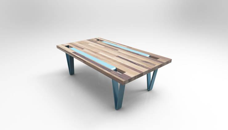 Table Cleep - version basse: Salon de style  par Pulse & Pulpe