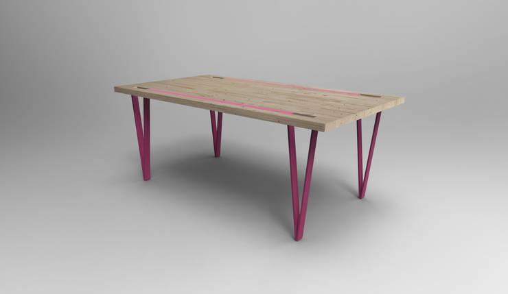 Table Cleep - version haute: Salon de style  par Pulse & Pulpe