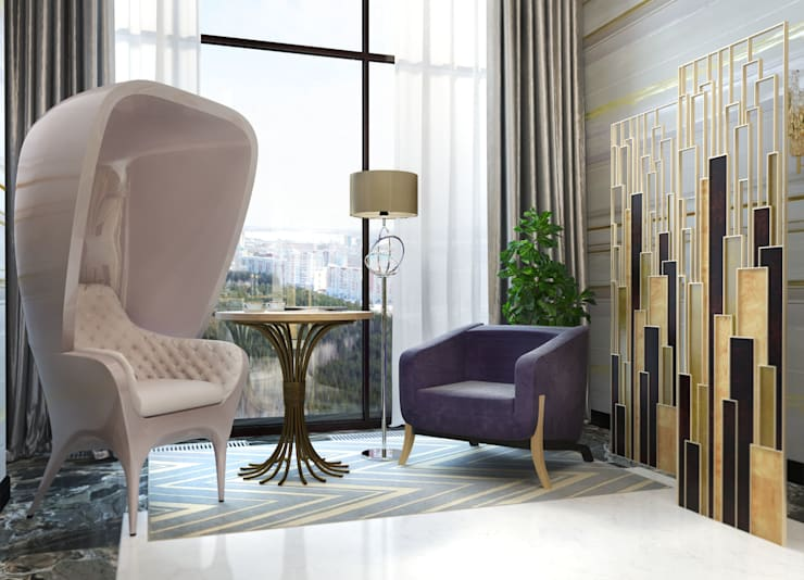 Chambre de style  par Katerina Butenko, Classique
