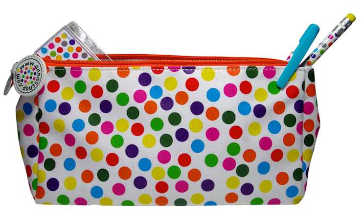 Trousse multi-usages pois multicolores: Bureau de style  par anna's shop