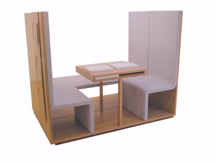 Dining Suite: Maison de style  par Frederic Ruyant