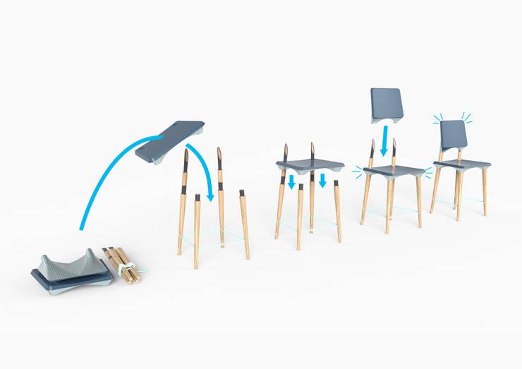 United Chair: Salon de style  par Camille Lefer