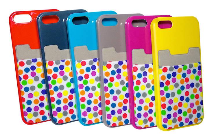 le iWallet, une pochette qui se colle à tous les téléphones pour y ranger vos cartes, oreillettes, tickets de métro...: Bureau de style  par anna's shop