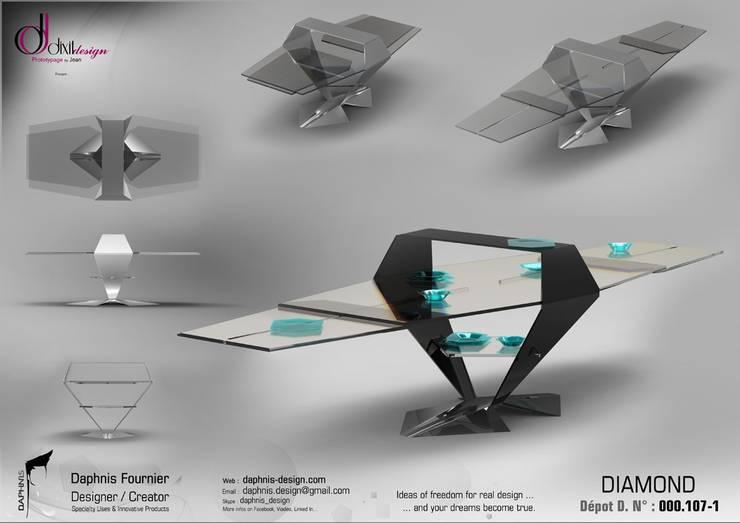 Diamond Table:  de style  par Daphnis Fournier