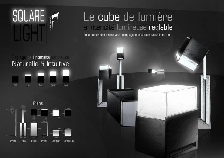 Square Light:  de style  par Daphnis Fournier
