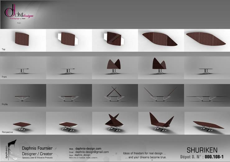 Shuriken:  de style  par Daphnis Fournier