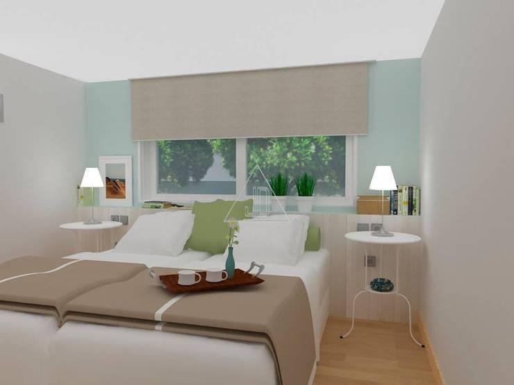 Apartamento de la playa / Beach Apartment: Casas de estilo  de Julia Design