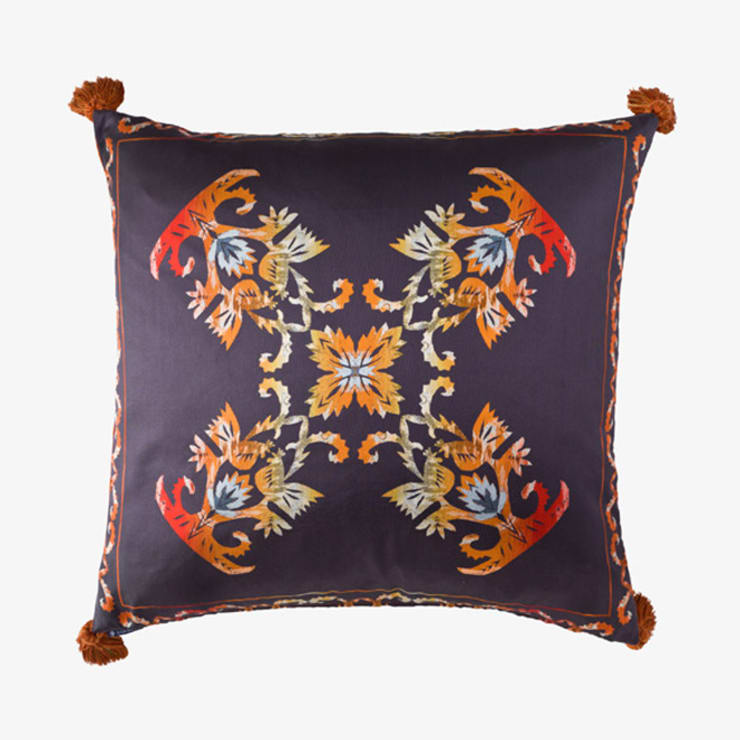 Flame :: Cushion:  Bedroom by Julia Brendel Limited