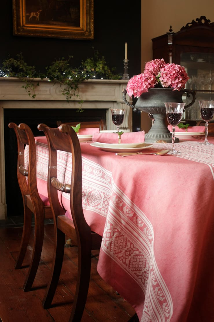 Hungarica :: Tablecloth:  Dining room by Julia Brendel Limited