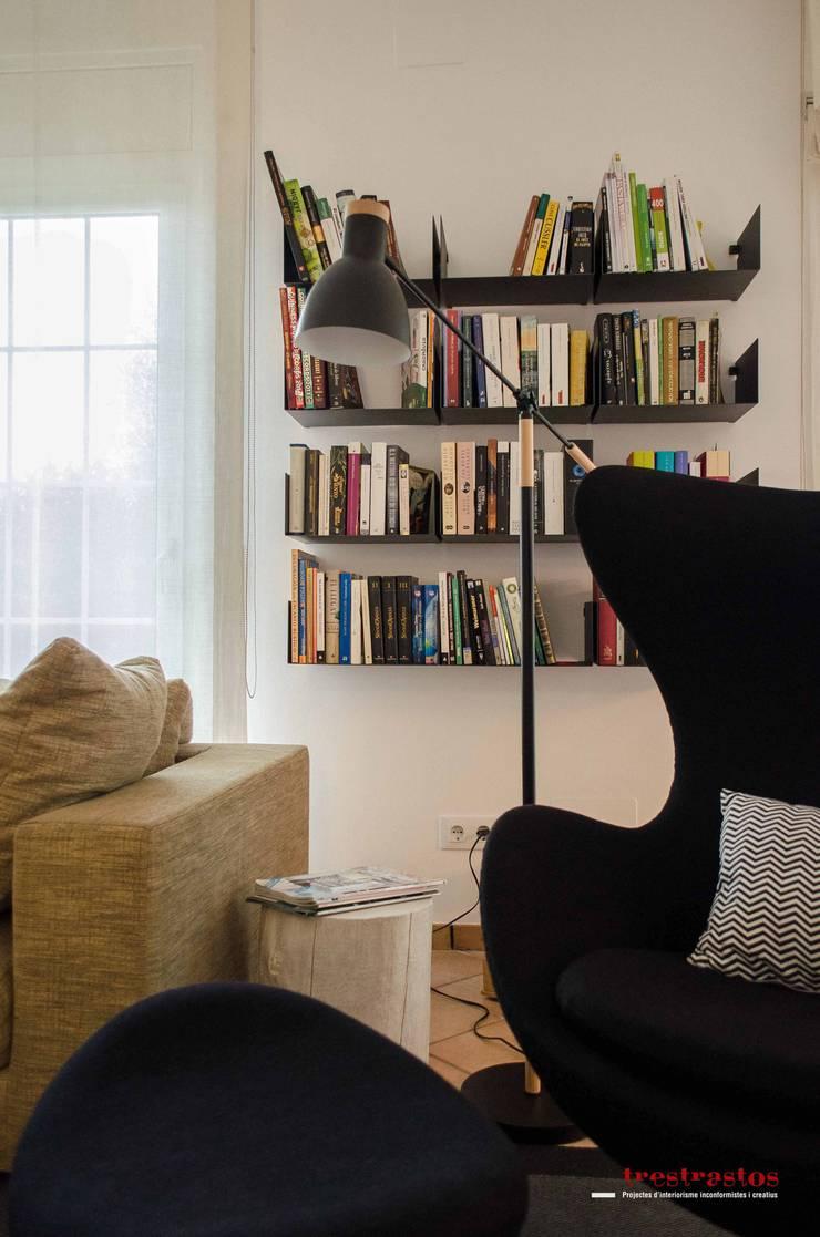 Reforma PB vivienda: Casas de estilo  de Trestrastos