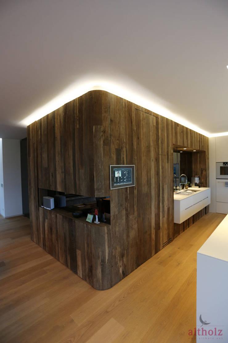 5.2Privathaus Kremstal:  Küche von altholz, Baumgartner & Co GmbH,Modern