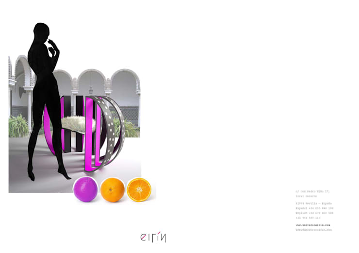 Orange: Hogar de estilo  de Universo Eirín s.l.u