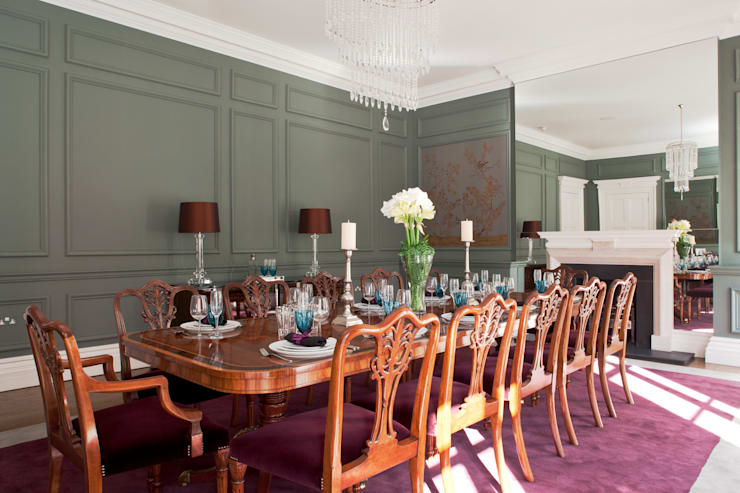 Dining room by Roselind Wilson Design