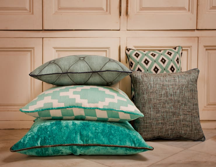 James Malone Fabrics :  Living room by AVOREZ   Exclusive UK Distributor