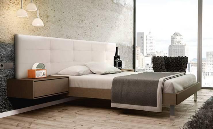 Dormitorios rectos: Dormitorios de estilo  de El Parque Mobiliario