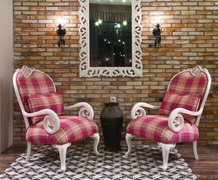 Nice:  Living room by Hconcept Interiors London Ltd.