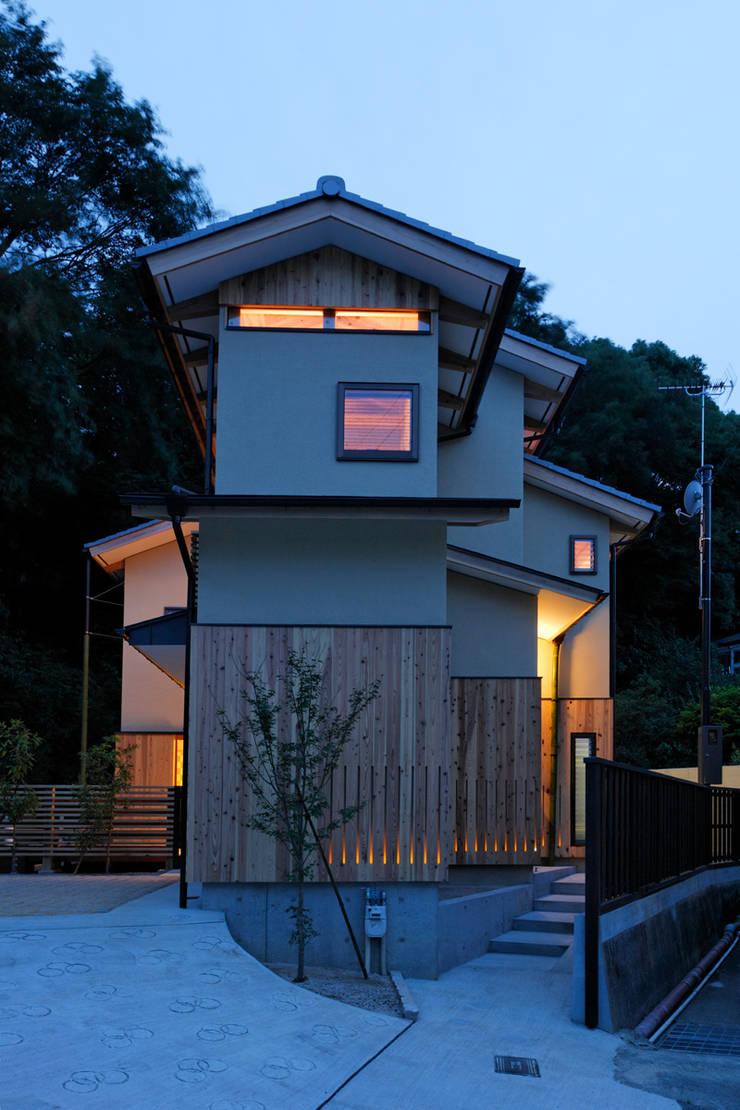 夕景: kihon_formが手掛けた家です。