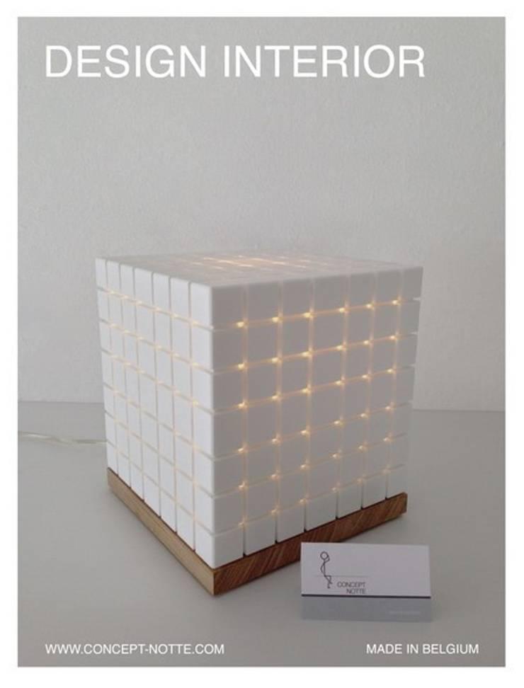 Lampe Cubix: Art de style  par Concept-notte