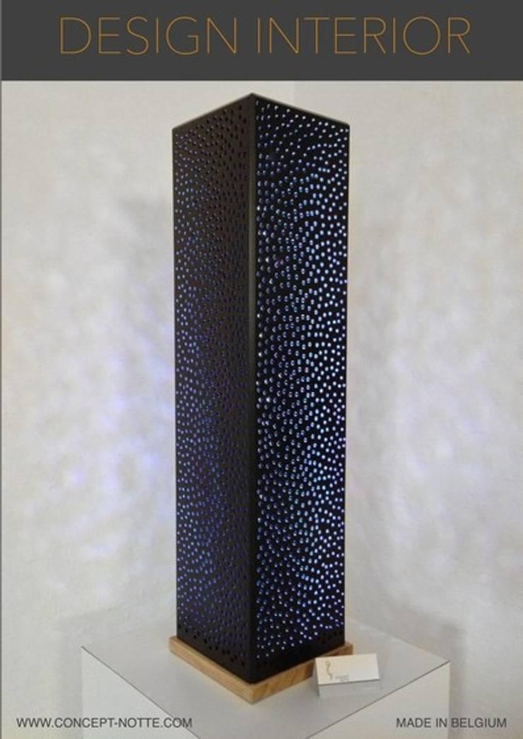 Lampe Zen noir: Art de style  par Concept-notte