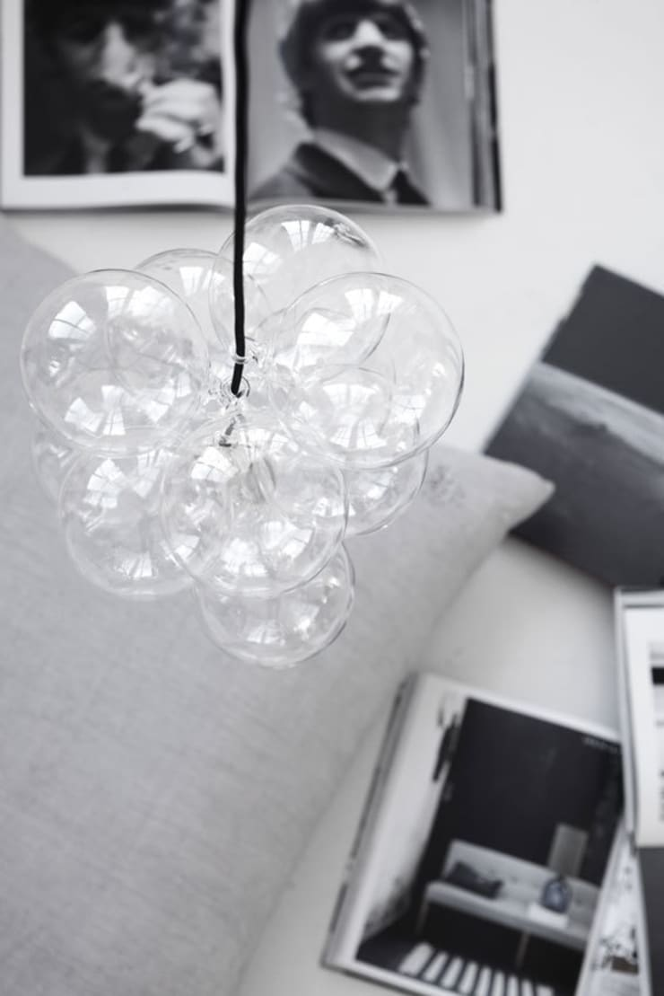 Cluster pendant light by House Doctor:  Household by An Artful Life
