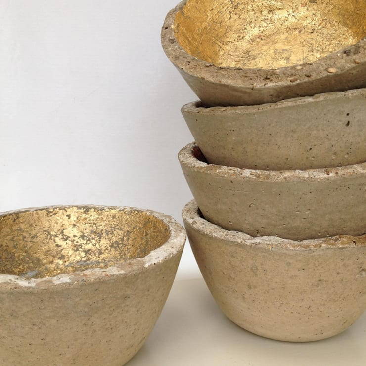 Concrete bowls:  Household by An Artful Life