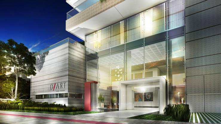 D/Art Home Design: Casas  por Mantovani e Rita Arquitetura