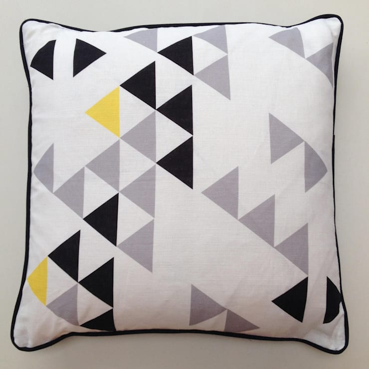 Polygon cushion by A Mind's Eye:  Household by An Artful Life