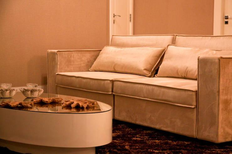 Apartamento : Casa  por Daniela Vieira Arquitetura