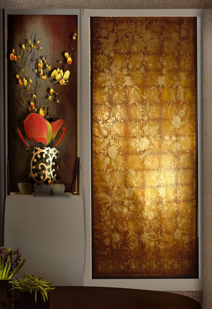 TAPIS DE FLEUR: Murs & Sols de style  par ULGADOR