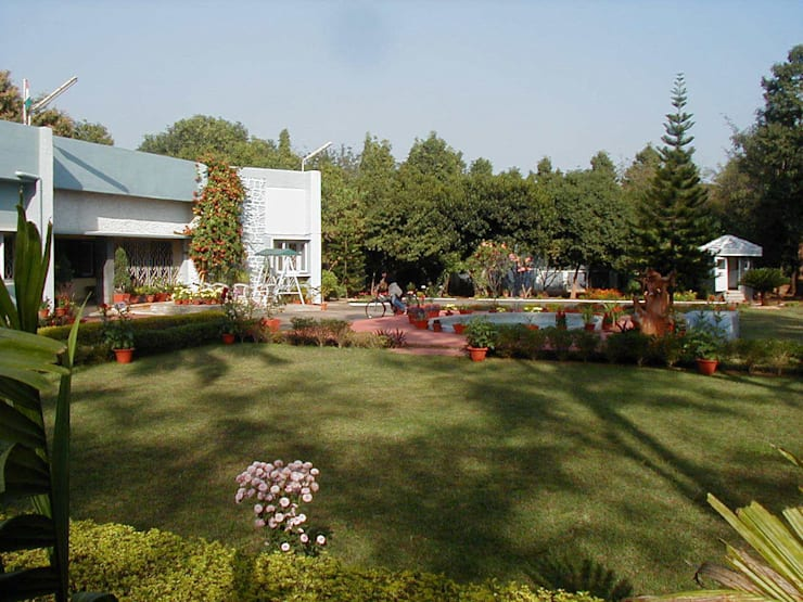 Renovation of garden & landscaping:  Garden  by Anna Interiors