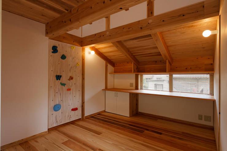 子供室: kihon_formが手掛けた子供部屋です。
