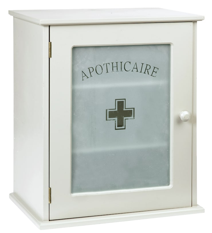 French apothicary cabinet:  Bathroom by Coco Home Style