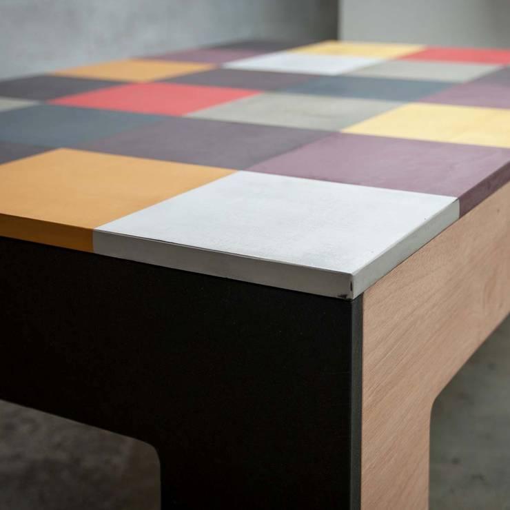 Détail, Plateau Table Fanfan: Salon de style  par BOBUN