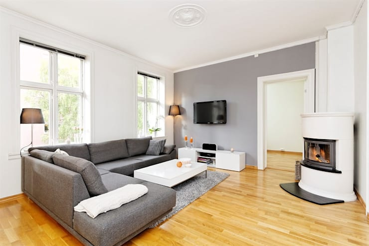 Apartment London:   by Studio Kiran Singh