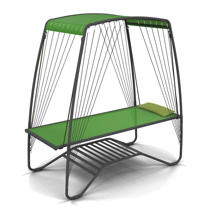TRANSAMAC - Raw green: Jardin de style de style eclectique par belanka