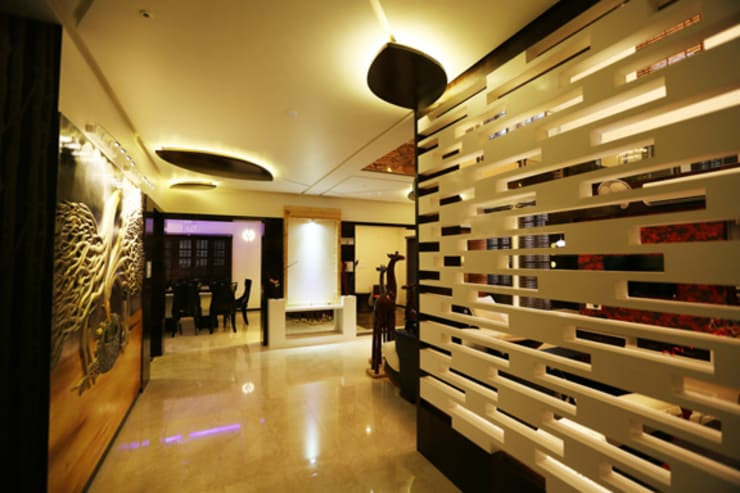 Sala multimedia de estilo  por malvigajjar